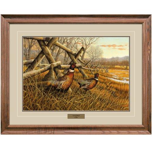 Dawn Framed Art (Reflective Art, Crest of Dawn, Walnut Framed, 26 by 34-inch)