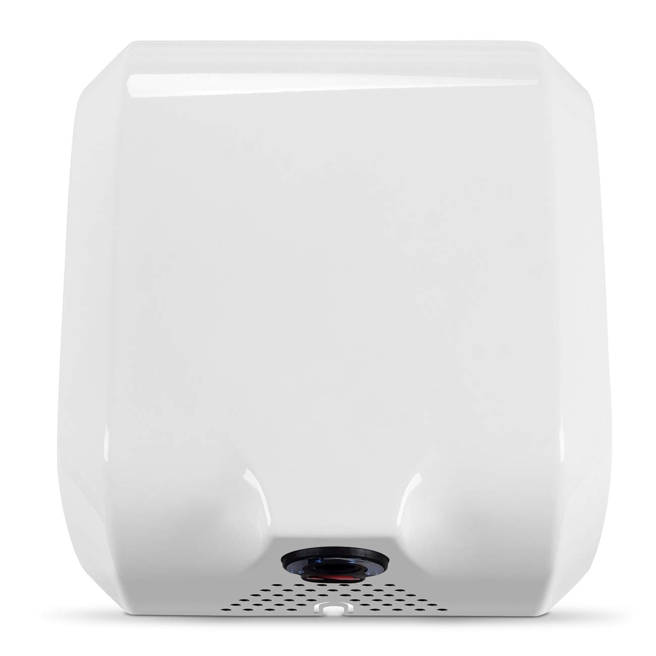 ARKSEN White Commercial Hand Dryer Automatic Sensor Surface Mounted Electric Hand Dry Mount Bathroom, 1800 Watts