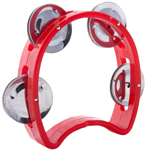 D'Luca TW-4PK 4-Inch Child's Tambourine, Pink D'Luca