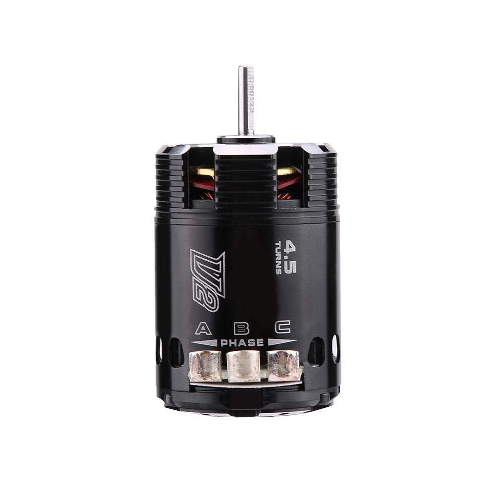 540 4.5T V2 Motore Sensor Brushless Parti di Accessori per Auto da Corsa RC 1//10 Dilwe Motore per Auto RC