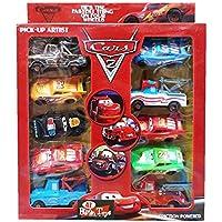 Cars Şimşek McQueen Anahtar Fırlatıcılı 10'lu Özel Set....