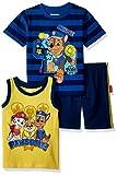 Nickelodeon Baby Boys Paw Patrol 3 Piece Short Set, Blue, 24M
