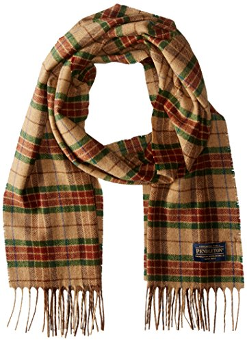 Pendleton Men's Whisperwool Muffler, Ranger Plaid, One Size