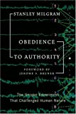 Obedience to Authority, Stanley Milgram, 006073728X