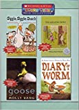 img - for Giggle, Giggle Quack, The Amazing Bone, Goose, Diary of a Worm (Scholastic Story Time DVD Collection) book / textbook / text book