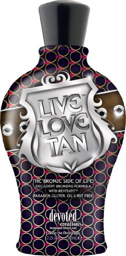 Devoted Creations LIVE LOVE TAN Bronzer Tanning Lotion 12.25