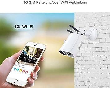 H.264 WiFi Mini cámara de vigilancia IP 1 Mega Pixeles App PIR ...