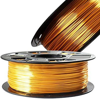 Amazon.com: Filamento para impresora 3D PLA de color dorado ...