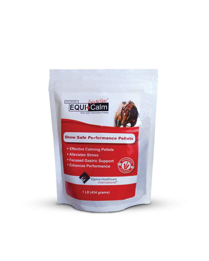 Equine Healthcare International Equi+Calm Show Safe Performance Pellets - 1 Pound by Equine Healthcare Int.