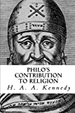 img - for Philo's Contribution to Religion book / textbook / text book