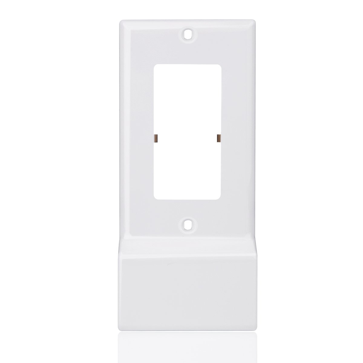 Wall Plate Cover, Easy Install Outlet Cover Plate with Dual High Speed USB Chargers  (Décor)