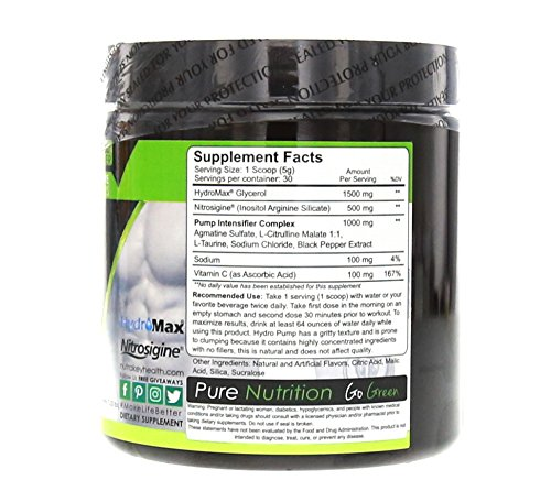 Nutrakey Hydro Pump Nutrition Mixer, Strawberry Lemonade