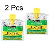 Ikevan Outdoor Disposable Fly Catcher Control Trap with Attractant Insecticide Free (2Pcs)