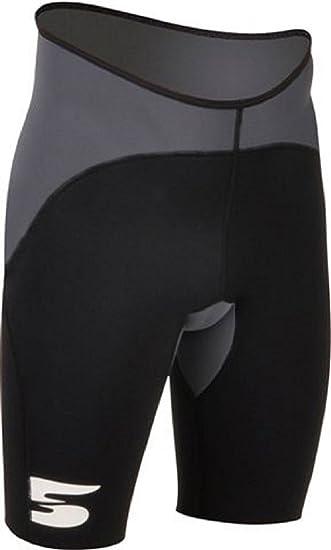 Damen Frauen Badehose 1.5mm Neopren Hosen Kurze Neoprenshort Paddelhose M