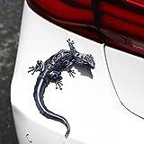 New 3D Sticker Forum Auto Headlight Gecko Shape Car