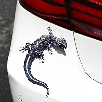New 3d Sticker Forum Auto Headlight Gecko Shape Car Sticker Sticker Car Sticker 1pcs