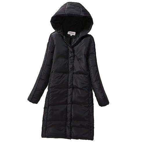 Anguang Mujer Moda Abrigo Cortas Acolchado Chaquetas Invierno Chaquetas Coat Abrigo