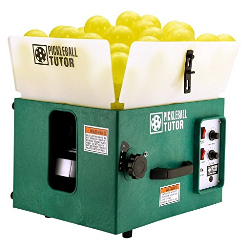 Oncourt Offcourt The Pickleball Tutor Basic Portable Ball Machine (AC-Powered, No Oscillation)