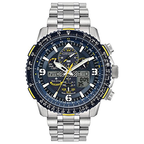 Citizen JY8078-52L Blue Angels Skyhawk A-T Men's Watch 46mm Stainless Steel