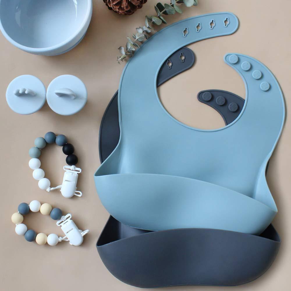2er silikonring f/ür schnullerkettev Baby Schnullerband LifeTree Schnullerkette f/ür M/ädchen und Junge