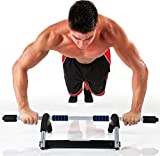 pure fitness weight training workout upper body exercise doorway bar