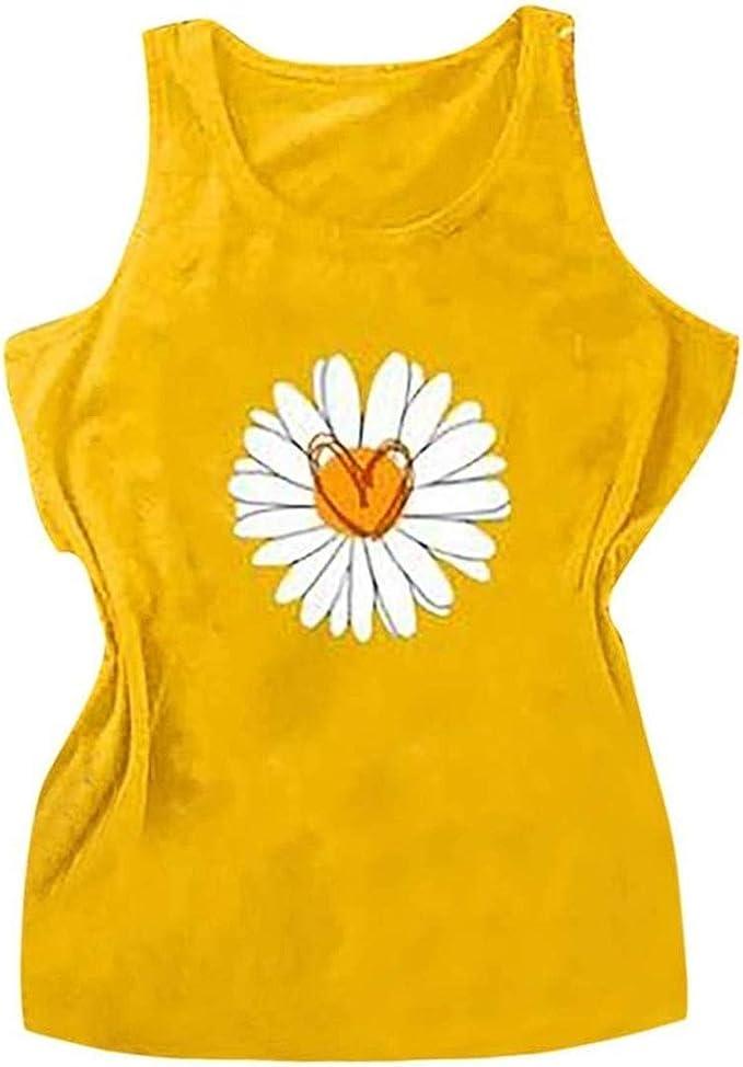 NOBRAND Camisas de margarita para mujer, diseño vintage con ...