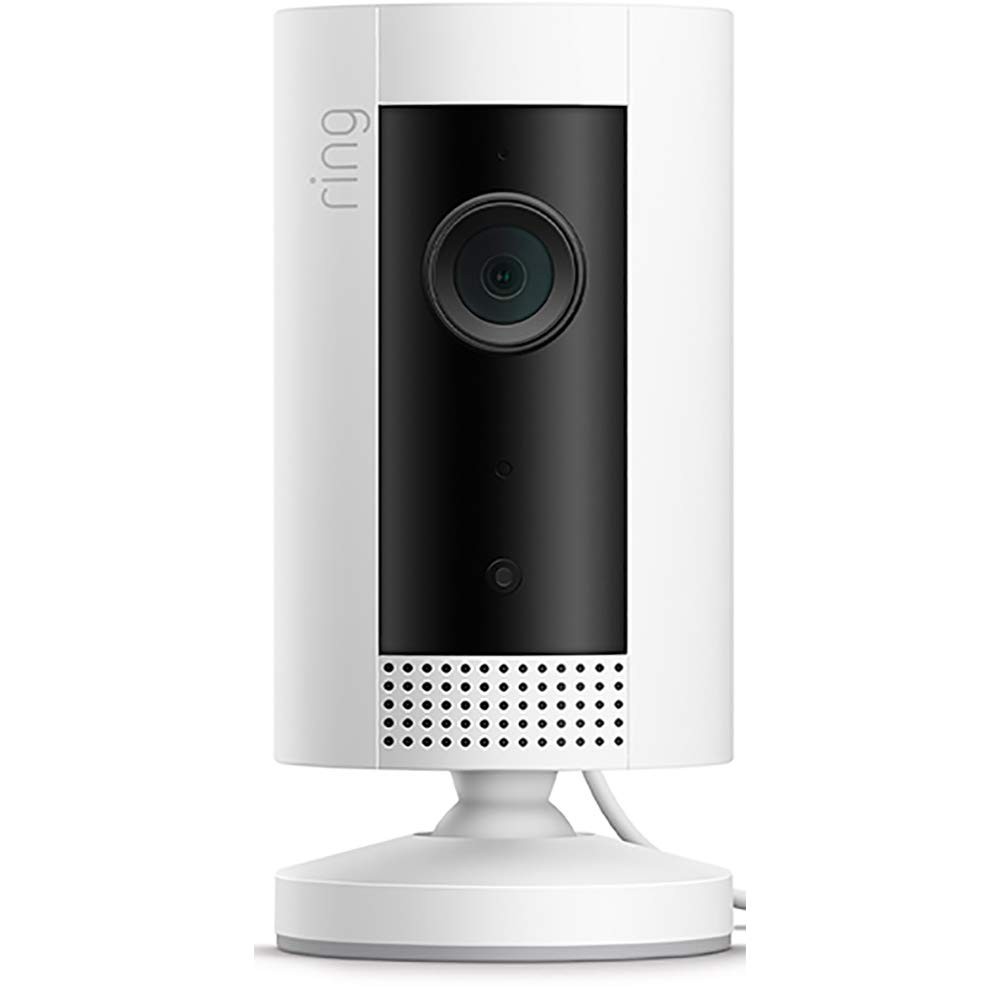 Introducing Ring Indoor Cam, Compact Plug-In HD security camera with two-way talk, White, Works with Alexa Reviews