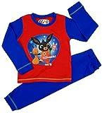 Boys Bing Pyjamas CBeebies Character 18-24m 2-3y 3-4y 4-5y 100% Cotton (4-5 Years, Hoppitty Vooosh Red)