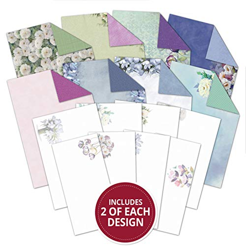 Hunkydory Frosted Florals Filigree Frames Inserts /& Papers