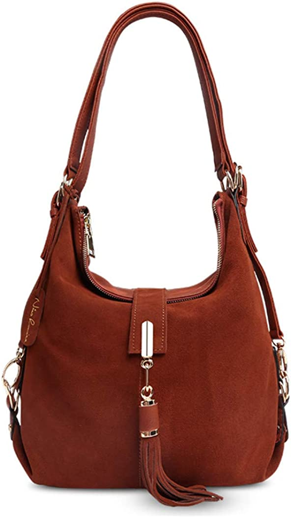 Women Leather Shoulder Bag...