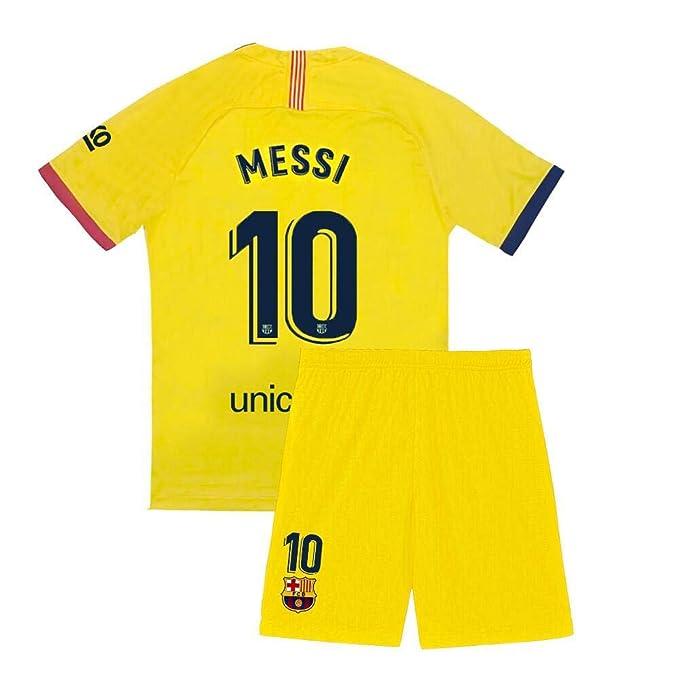 Amazon.com: Youth Messi 2019-2020 - Pantalones cortos de ...