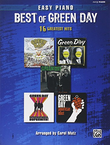 The Best of Green Day: Easy Piano