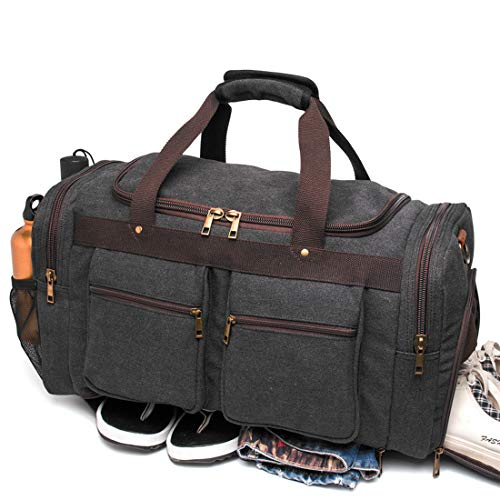 BLUBOON Canvas Duffel Bag
