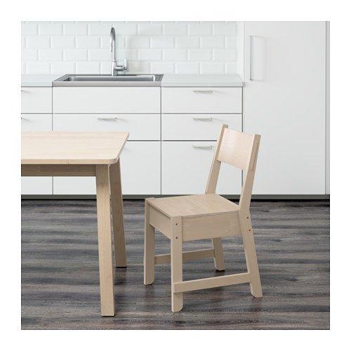 IKEA Chair, White Birch 18210.231711.106