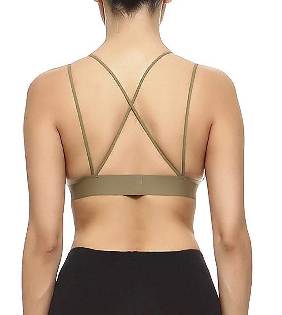 4675978bc6fa6 Vesi Star Women s Deep V Neckline w Double Strap Bralette Top at Amazon  Women s Clothing store