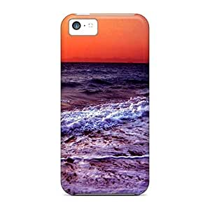 High Quality Shock Absorbing Case For Iphone 5c-sunset Sound