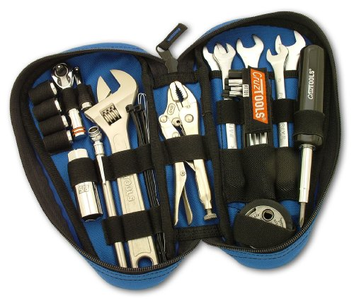 Teardrop Tool Box Pouches - Cruztools (RTTD1 RoadTech Tool Kit