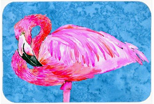 Caroline's Treasures 8686LCB Flamingo Glass Cutting Board, Large, Multicolor