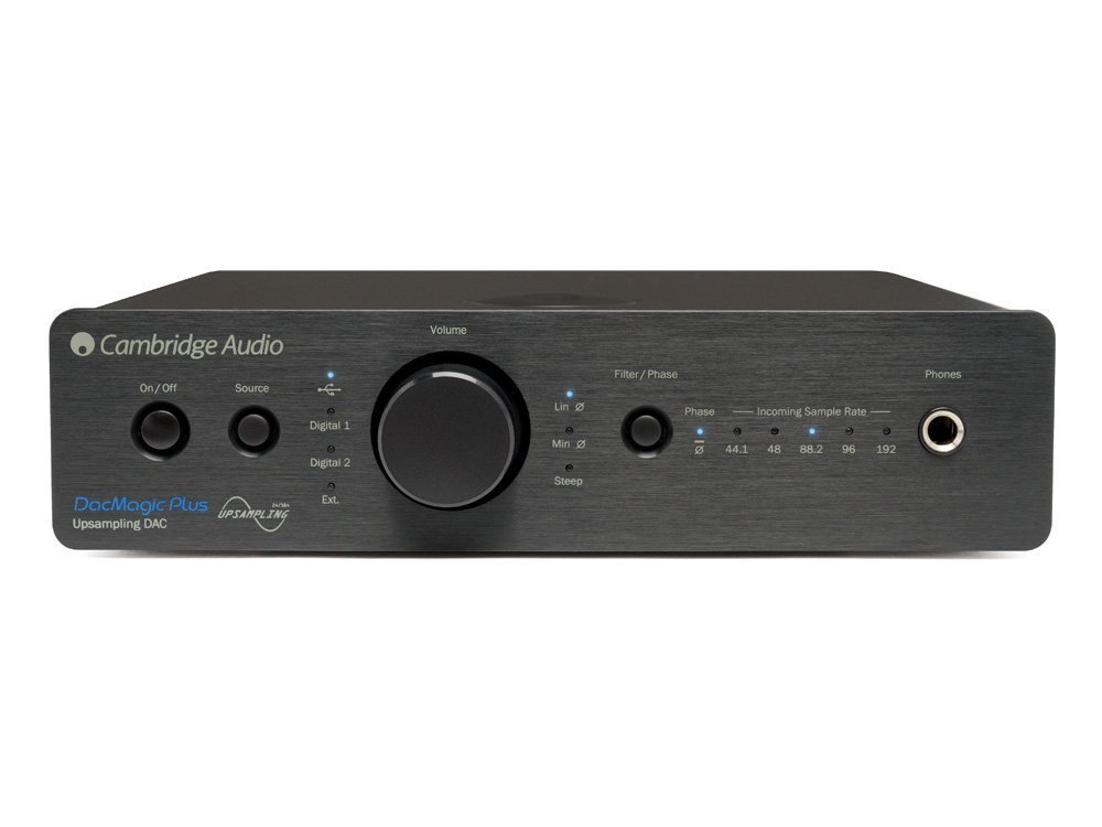 Cambridge Audio Azur DacMagic Plus Digital to Analogue Convert, Black