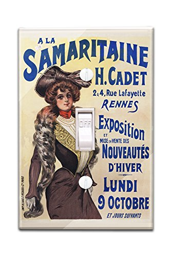a-la-samaritaine-vintage-poster-france-light-switchplate-cover
