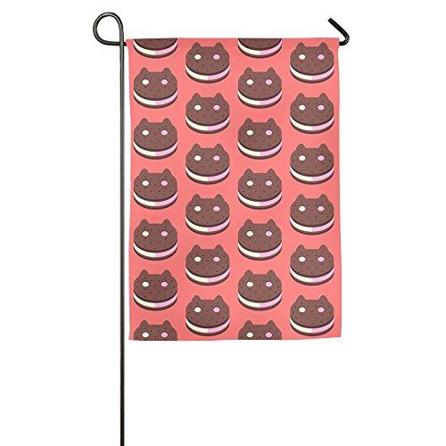 Cookies Bright Vivid Wear Resistant Christmas Flags Monogram