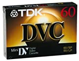 TDK Mini Digital Video Cassette (6 Cassettes)