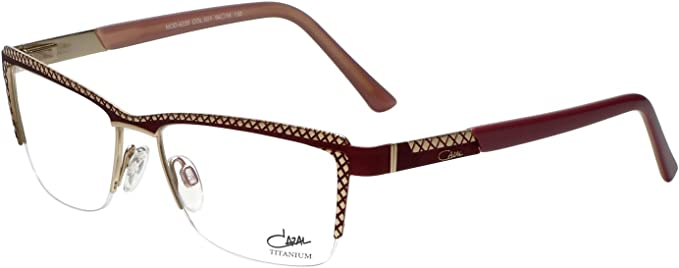 Amazon.com: Cazal Designer Eyeglass Frames 4235-001 in Plum Gold 54mm:  Clothing