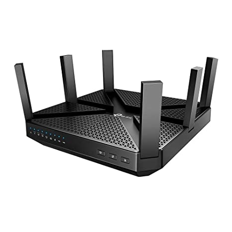 TP-Link AC4000 Smart WiFi Router - Tri Band Router, MU-MIMO, VPN Server,  Advanced Security by Homecare, 1 8GHz CPU, Gigabit, Beamforming, Link