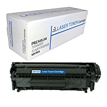Proosh Compatible Toner Cartridge for HP Q2612A, Black, 12A Non OEM; for use in Compatible Printers: HP LaserJet HP LaserJet 1010, 1012, 1018, 1020, 1022, 1022n, 1022nw, 3015, 3020, 3030, 3050, 3052, 3055, M1319, M1319f