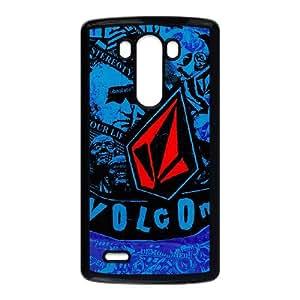 Volcom Logo For LG G3 Black Custom Cell Phone Case Cover 99II932440