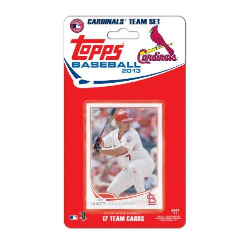 Topps MLB Saint Louis Cardinals Team Trading Card Set