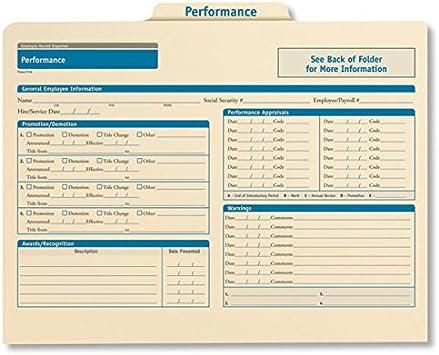 ComplyRight Personnel Pocket File Pink Folder A0781