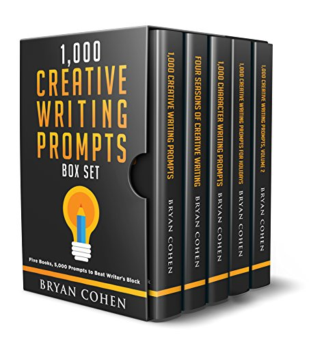 (1,000 Creative Writing Prompts Box Set: Five Books, 5,000 Prompts to Beat Writer's Block)