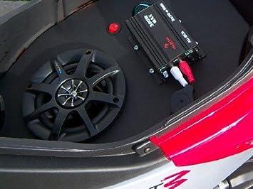 blaupunkt helmet storage box system, peugeot jet force, black Circuit Breaker